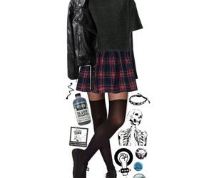 aesthetic, grunge, and clothing image