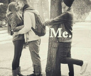 couple, alone, and me image