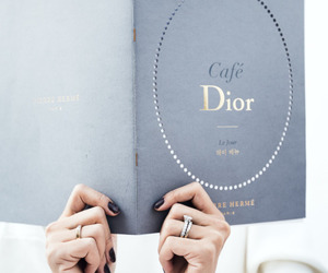 dior, blue, and indie image