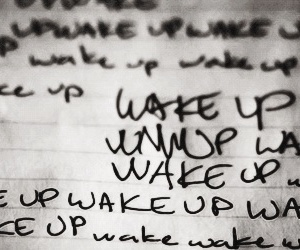 teen wolf, stiles, and wake up image