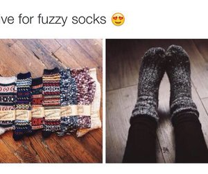 fuzzy and socks image