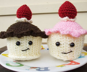 cupcake, happy, and cute image