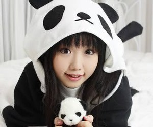 kigurumi and panda image