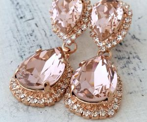 jewels, rose gold, and trending image