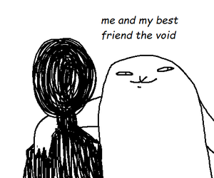 void, funny, and lol image