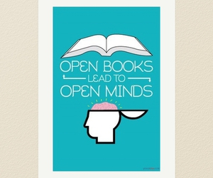 book and open image