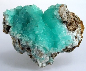 heart, blue, and rock image