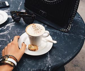 coffee, fashion, and cartier image