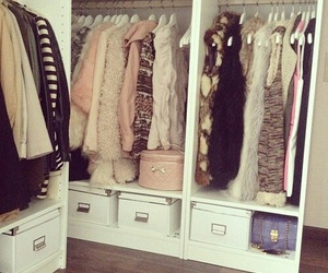 clothes, luxury, and closet image