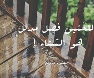 عربي, arabic, and rain image