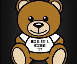 Moschino, bear, and toy image