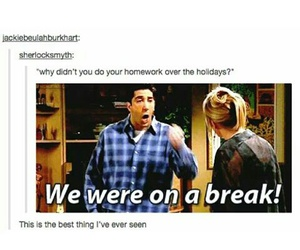 friends, funny, and tumblr image