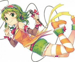 gumi and vocaloid image