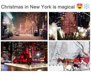 christmas, new york, and ny image