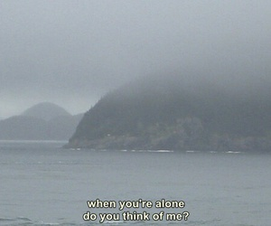 alone, quote, and grunge image