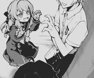 owari no seraph, manga, and shinoa hiragi image