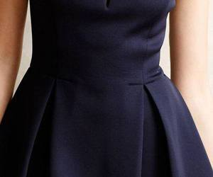 blue dress, outfit, and dress image