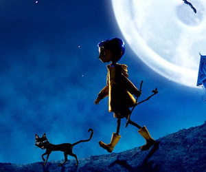 banners, black cat, and coraline image