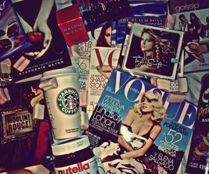 starbucks, vogue, and nutella image