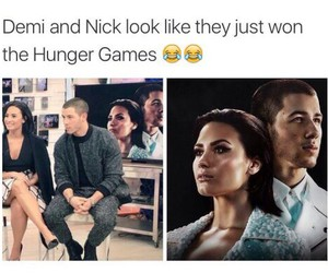 demi lovato, lol, and hunger games image