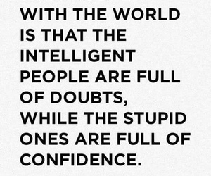 confidence, doubt, and intelligent image