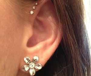 accessory, beautiful, and earrings image