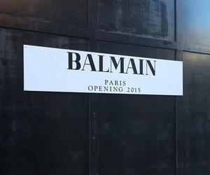 Balmain, fashion, and paris image