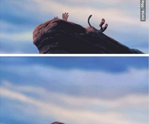 disney, simba, and fun image