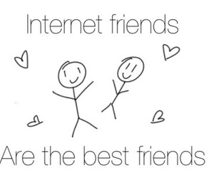 internet friends, internet, and tumblr image