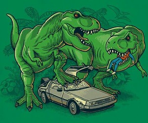 Back to the Future and dinosaurs image
