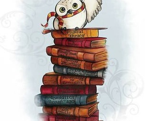 harry potter, book, and owl image