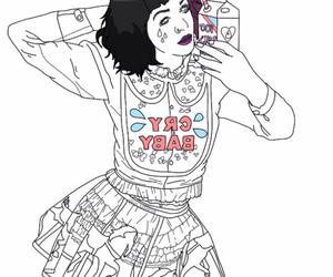 crybaby, girl, and grunge image