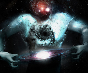 black, cool, and universe image