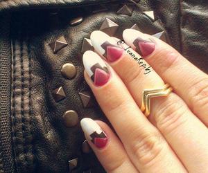 autumn, nails art, and design image