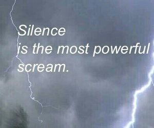 silence and scream image