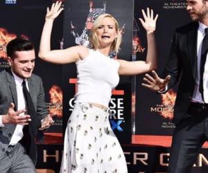 Jennifer Lawrence, josh hutcherson, and jogos vorazes image