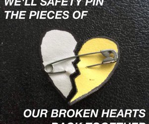 5sos and safety pin image