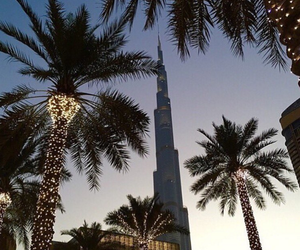 Dubai, light, and summer image