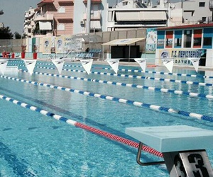 swimming and swimming pool image