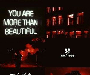 aesthetic, aries, and red image