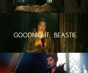 maleficent, disney, and beastie image
