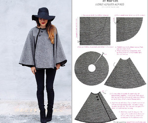 diy, cape, and fashion image