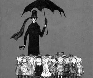 edward gorey, children, and death image