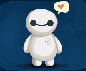 baymax, cute, and big hero 6 image