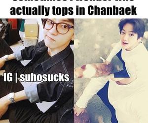 chanyeol, baekhyun, and baekyeol image