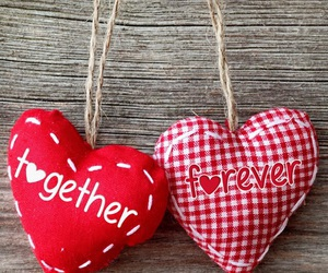 love, heart, and together image