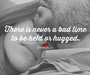 couple, hug, and love you image