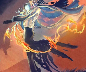 calcifer, anime, and Howl image