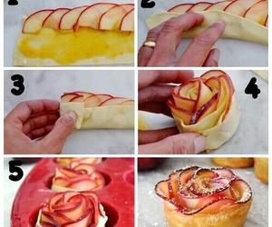 diy, apple, and food image