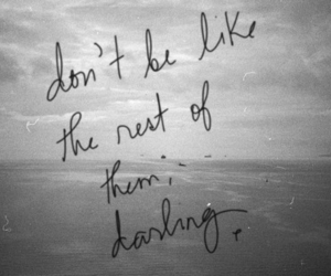 quote, darling, and text image